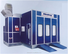 Environmental protection spray booth