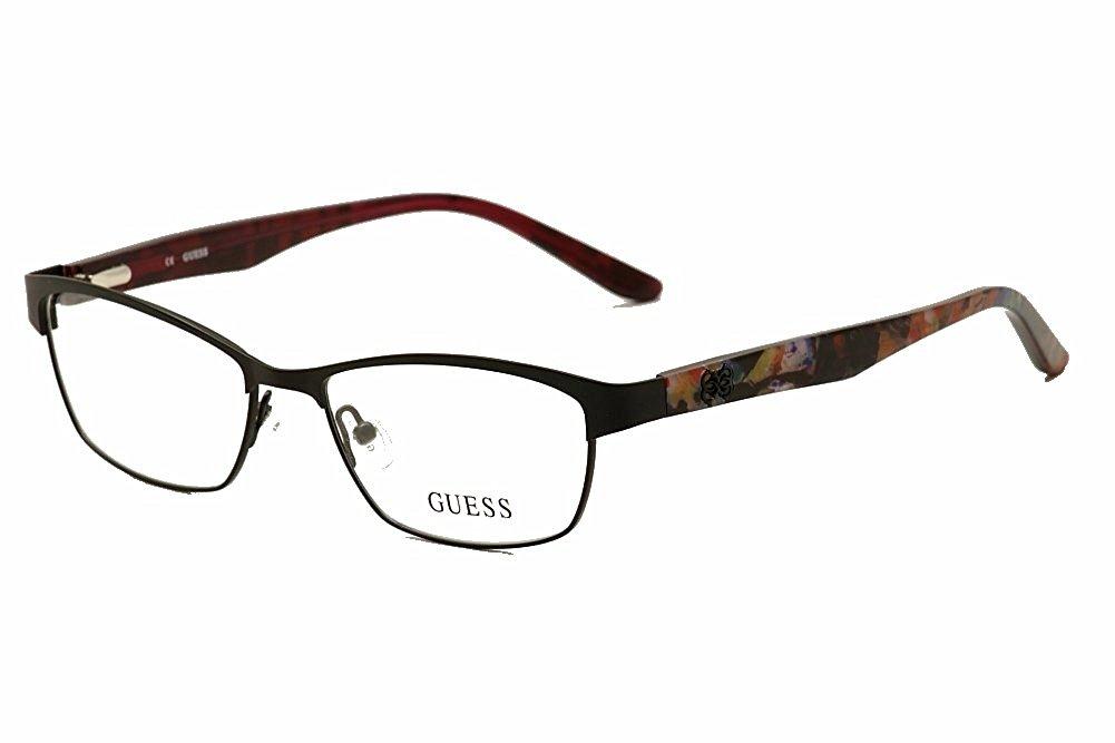 3142af079a1 ... Full Rim Optical Frame 52mm 77.63. GUESS Eyeglasses GU 2420 Satin Black  53MM