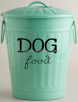 Decorative Dog Food Storage Bin