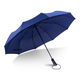 New cheap foldable light weight auto open close 3 folding umbrella sombrilla