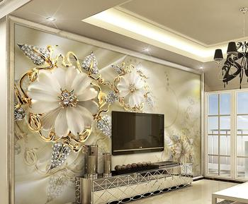 3d Beautiful Luxury Wallpaper Hd Digital Printing Wall Mural For Tv  Background Wall Decoration - Buy 3d Wall Mural,Tv Background Wall ...