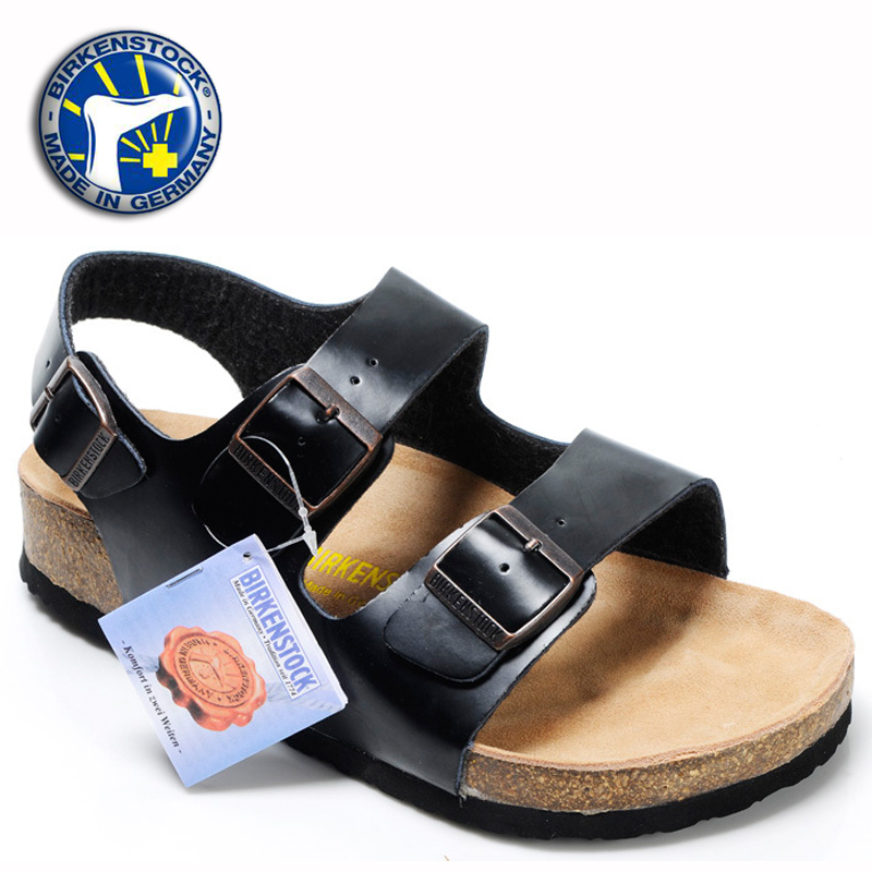 23677105577f Free Shipping 2015 Summer Cheap Sandales Femme Birkenstock Milano Women  Sandals