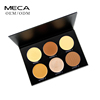 Backstage makeup pressed face powder 6 colors highlighter powder palette glow kit