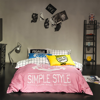 top quality comfortable indian cotton custom made bed sheets/bed sets