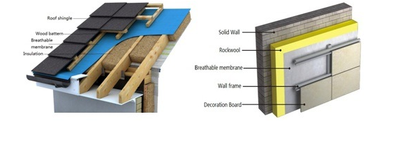 0.5mm Strengthen Waterproof Breathable Membrane for Roofing