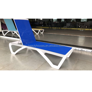 Pool Furniture sling Adjustable Reclining sun Lounger spain