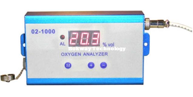 Oxygen alarm / oxygen concentration of transmitter / O2-1000 / oxygen switch