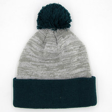 wholesale custom beanie ski knitted hat beanie with top ball