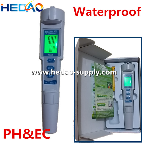 Promotional pen type digital waterproof ph tds ec atc ph meter