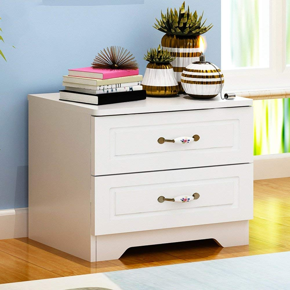 Bedside Cabinets Storage Cabinets Assembly Lockers Dormitory Bedroom Assembly Bedside Cabinets Bedside Table (Size : 483339)