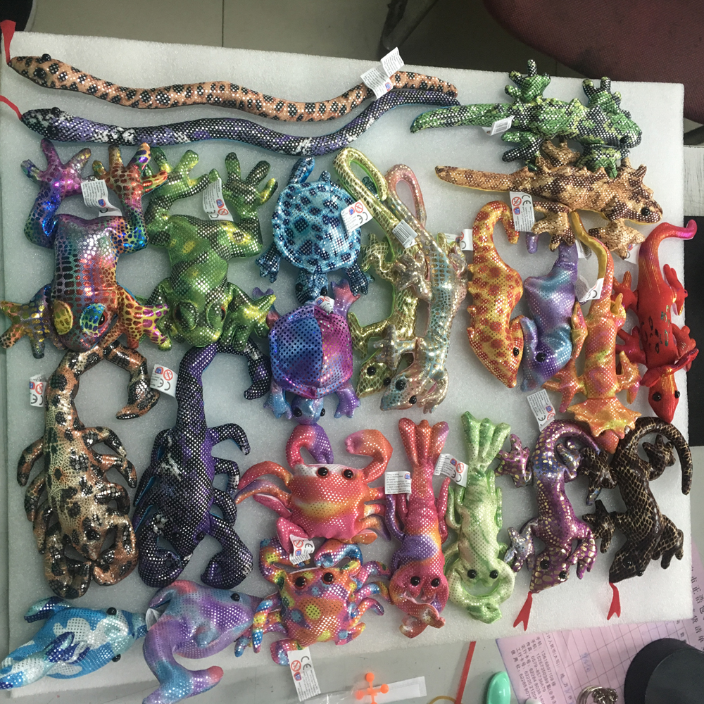 High quality Collectable medium Glitter Wild Sand animals