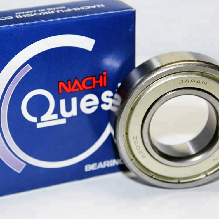 1 pcs Nachi 6203ZE Single Row deep grove ball Bearing metal seals free shipping