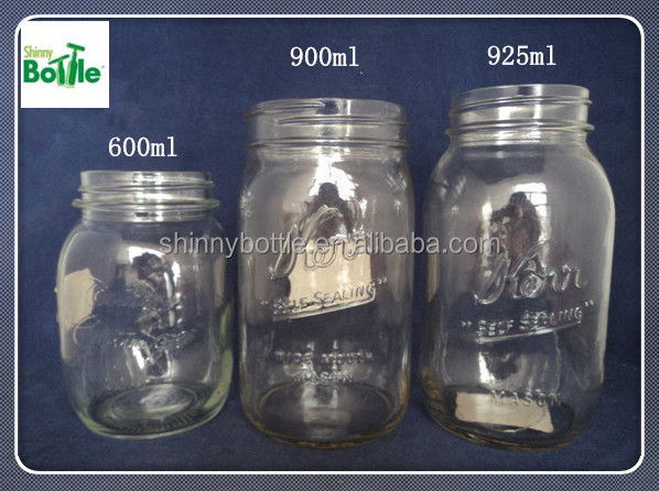 exisiting molds and no need mold cost mason jar, glass jar for beverage