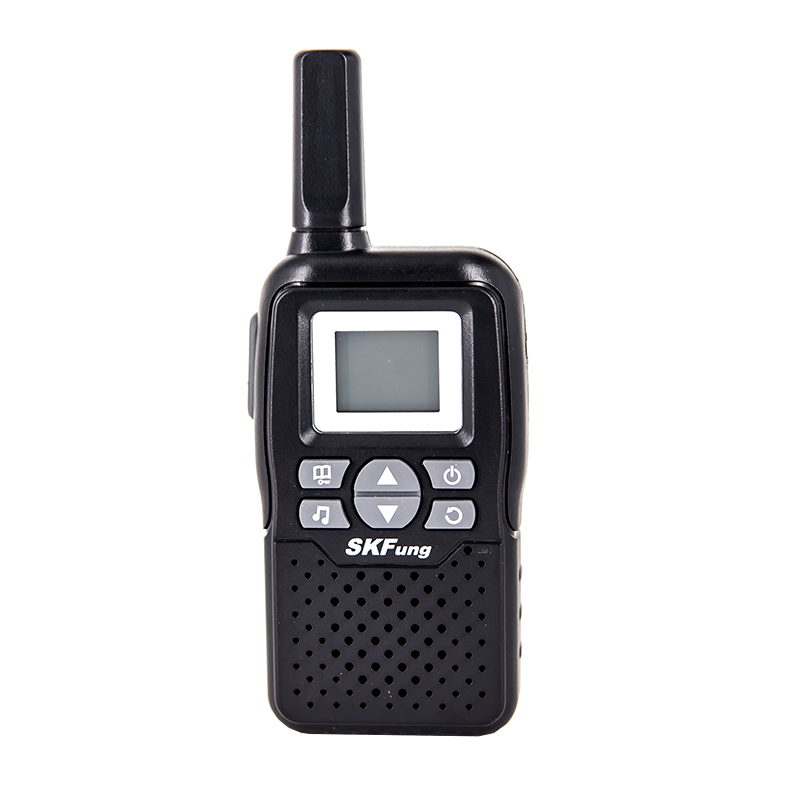 China fábrica whosale Handheld fácil de transportar Mini walkie talkie