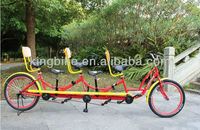 2014 hot sell bicycle/24 inch Tandem bike with 6 saddle KB-BC-T06