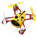 2017 New Arrival Mini RC Helicopters Toys Quadrocopter 2 4GHZ Profissional Helicopter Remote Control Quadcopter Drone