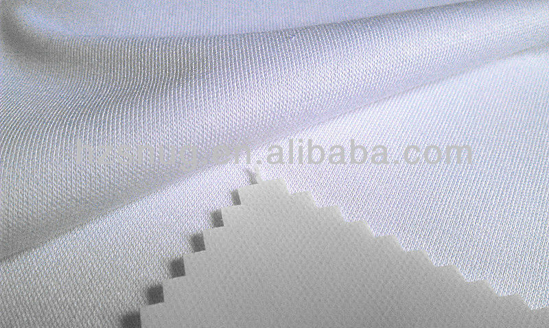 160gsm Bamboo jersey knitted fabric with TPU lamination Waterproof fabric