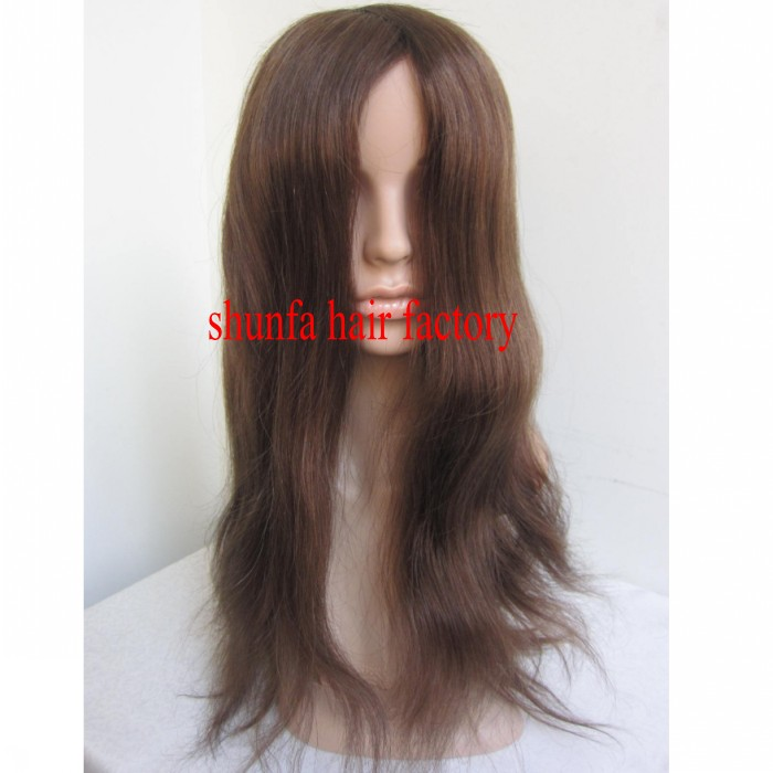 Suppliersstock fish net long pull through wigs