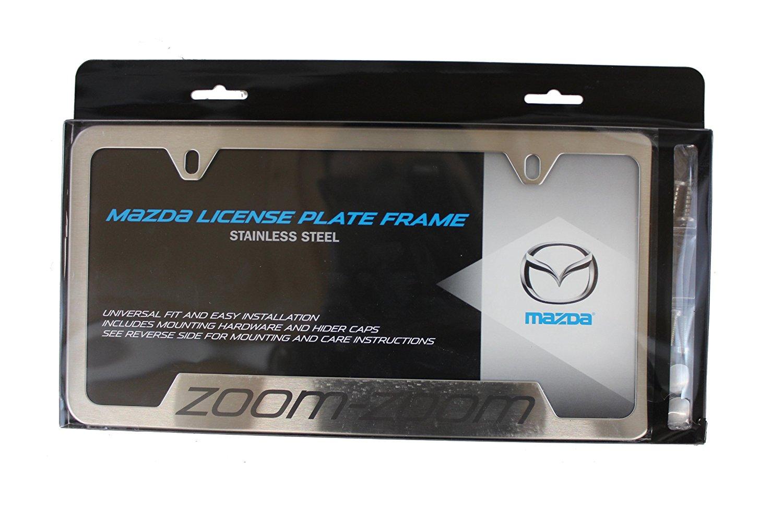 Genuine Mazda Accessories 0000-83-Z12 License Plate Frame