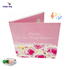 hot & newest customized 3d greeting card /blessing card