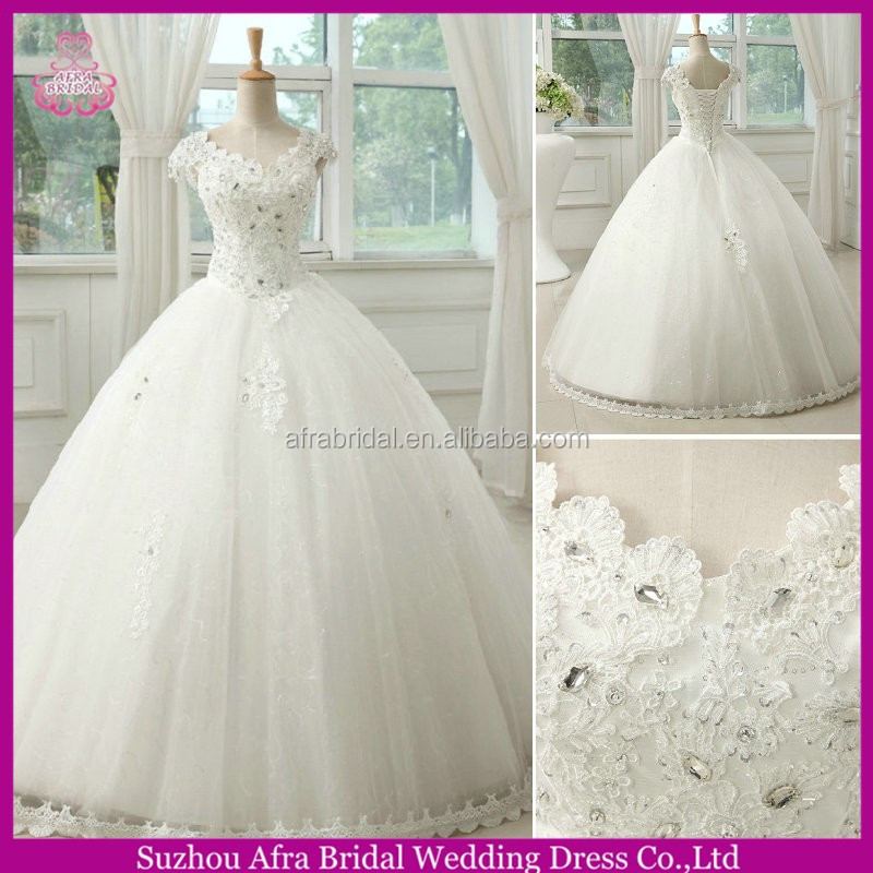 SW822 off shoulder lace bodice ball gown cheap julie vino wedding dresses without train