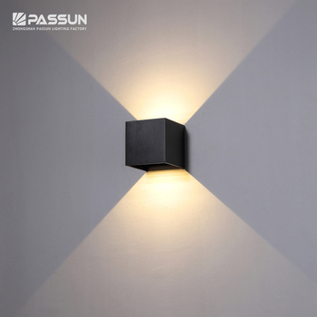 Square Outdoor Led Wall Lights 6w