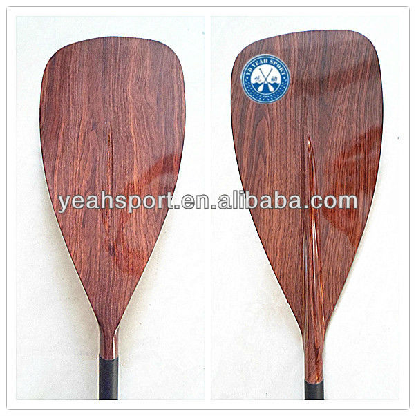 2013 Newest Adjustable Sup Wood Paddles/stand up paddle