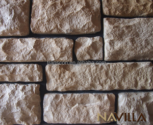 wall decorative look plastic stone panels