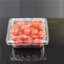 MR8-250 Customized disposable eco-friendly plastic food container frozen food / fruit packaging tray for supermarket