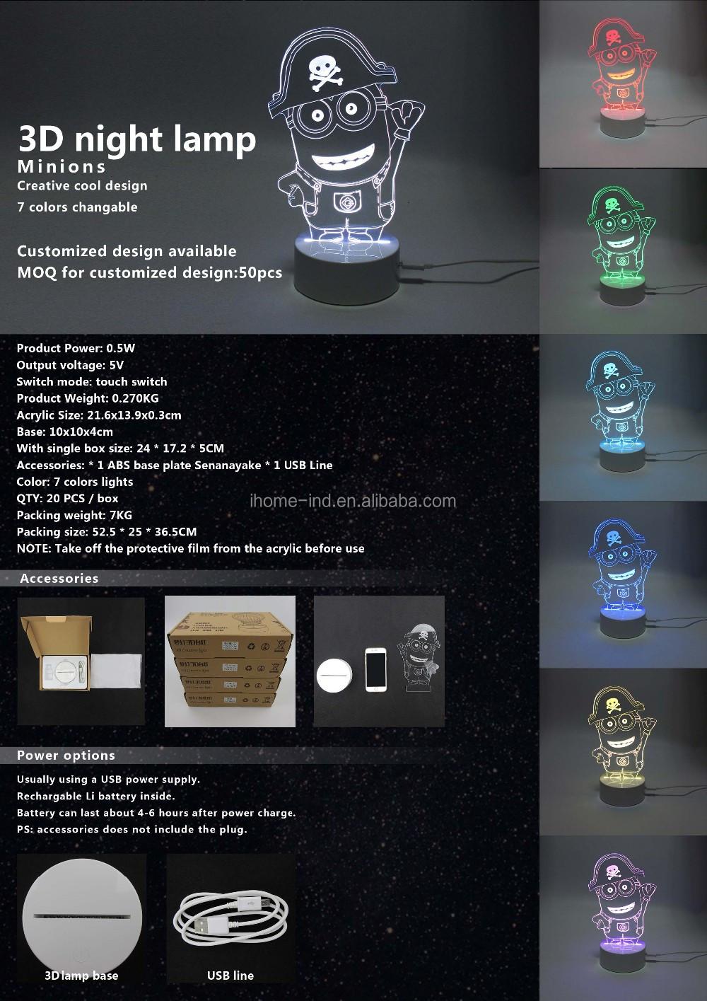 Acrylique Led Buy Veilleuses Coeur Fantaisie Doux Lampe Petites acrylique De Fabrication Fantaisie Idées Amour 0kOnwPX8N