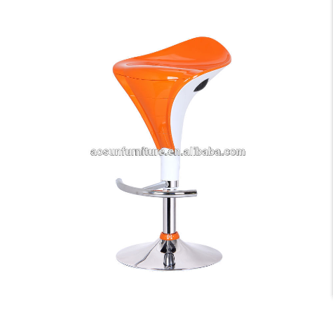 2017 Cheap and hot sale swivel bar stool/ abs bar chair