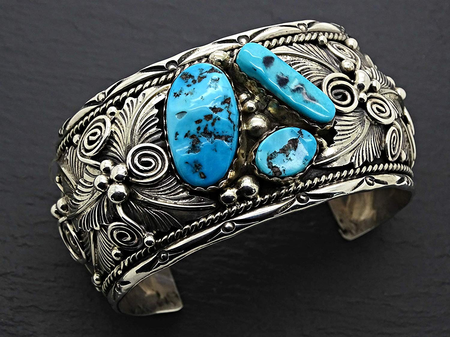 big mens cuff turquoise silver, Native American cuff bracelet Navajo turquoise cuff, large turquoise cuff bracelet silver, Navajo jewelry