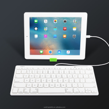[MFi certified] Omars English/ Nordic Lightnning Wired Multimedia Keyboard for iPads in the classroom