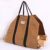 Water Resistant Waxed Canvas Firewood Log Carrier Firewood Holder