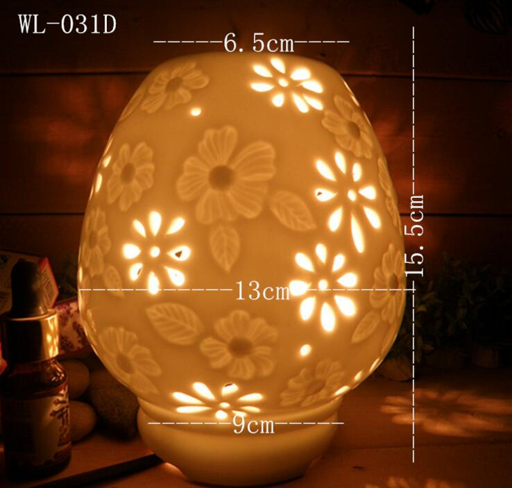 classic style good blessing healthy chinese green porcelain lamp