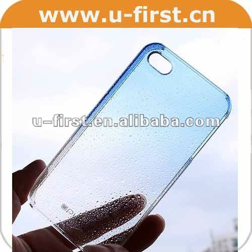3D raindrop case for iPhone 4 4s,For iPhone 4 4s 3D raindrop case Cover, many colors to choose