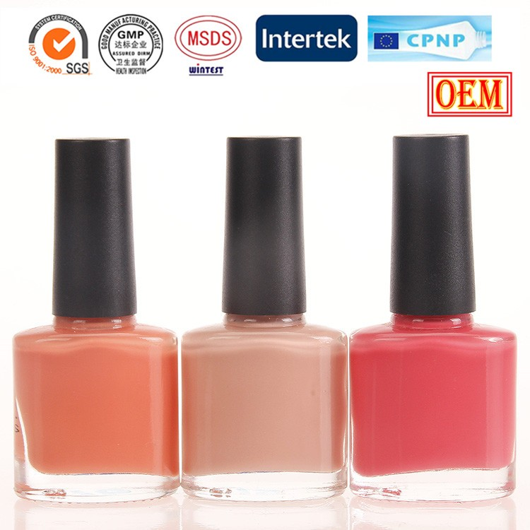 Private Label Nail Polish Manufacturers Color Changing Water Based