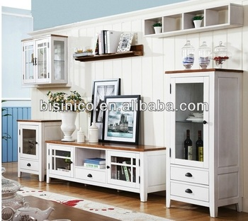 English Country Contemporary Style Furniture Set Living Room Sets Tv Cabinet Display