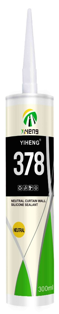 YIHENG 378 NEUTRAL STRUCTURAL SILICONE SEALANT(CLEAR/TRANSPARENT)