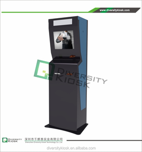 wholesale custom outdoor membrane steel structure double sided lcd kiosk