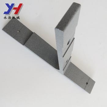 Square Custom Adjustable Aluminum Wood Beaded Curtain Rod Brackets