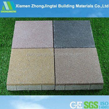 Outdoor Flooring Material Floor Tiles Permeable Concrete Brick Paving