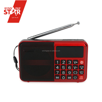 portable radio am fm usb sd usb radio mini fm radio mp3 player