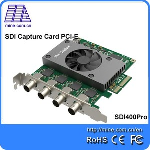 2018 New Hd/sd Digital Video Audio Capture Card Pci-e SDI capture card