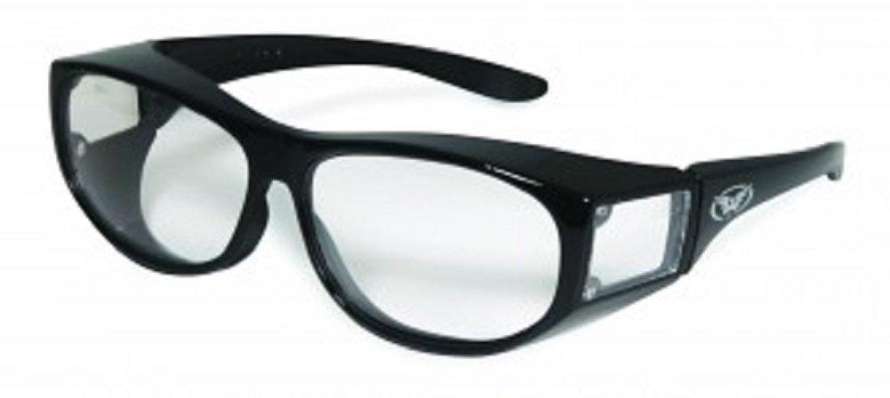 1eae3bd137 Get Quotations · Global Vision Escort Over-Prescription Glasses Sunglasses  Has Matching Side Lenses Meets ANSI Z87.
