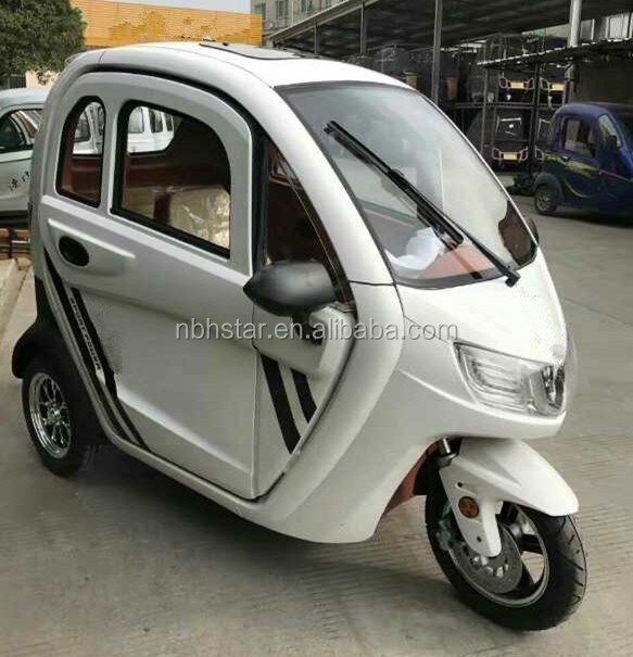 Adult 3 Wheel Electric trike/Closed Type electric Tricycle For Passenger|three wheel electric scooter