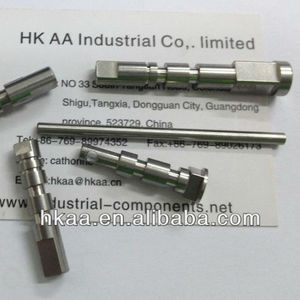 china custom made cnc turning stainless steel axis pin supplier