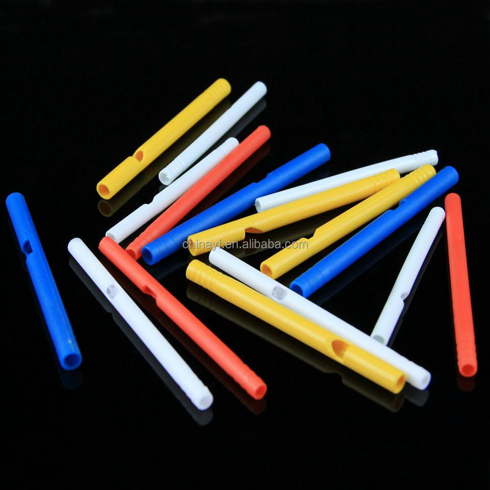 Hot sale customized plastic whistle lollipop sticks