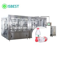 Small scale bottling machine bottle filling mineral water plant