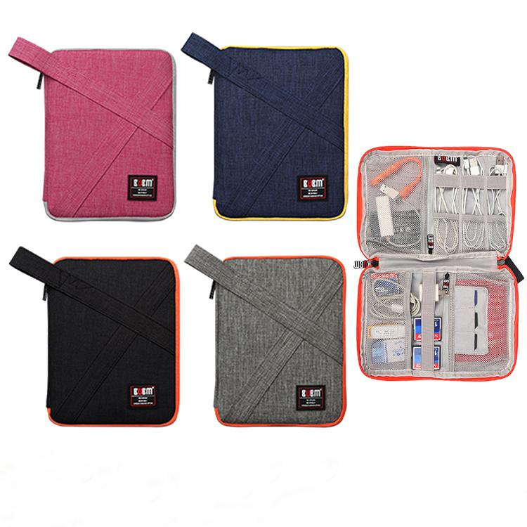BUBM travel portable electronic gadget cable organizer digital storage bag